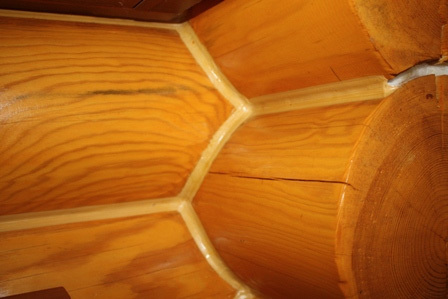 герметик для деревянного дома теплый шов
